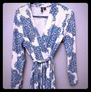 Cynthia Rowley Front Tie Robe
